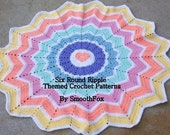 SmoothFox's Round Ripple Themed Crochet Patterns