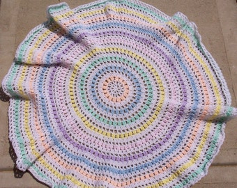 Fox's Spring Circle Of Life Baby Blanket