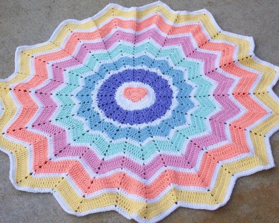 12 Point Crochet Star Blanket