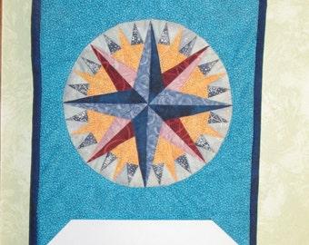 FREE SHIPPING - Mariner's Compass Calendar