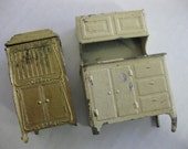 Vintage Tootsietoy Metal Dollhouse Furniture Fixer Upper REDUCED