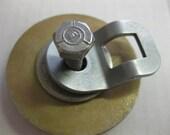 Odd Vintage Heavy Hardware Washer Bolt Disks Supplies Altered Art 5 pcs Lot