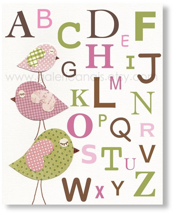 Kids wall art nursery art nursery decor baby by galerieanais for Baby room decoration letters