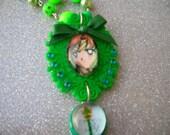 FREE SHIPPING- SALE - Sailor Jupiter Plastic Pendant Necklace