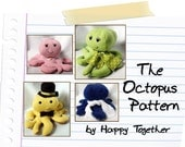 The PDF Octopus Pattern  An Original Happy Together Pattern