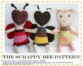 The Scrappy Bee PDF Pattern by Happy Together