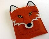 Fox MacBook Air 11 inch case - Felt laptop bag
