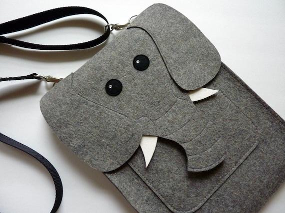 Elephant MacBook Pro 15 inch case - Touch bar and Retina - Felt laptop case