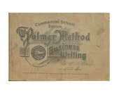 1923 Business Writing Instruction Booklet