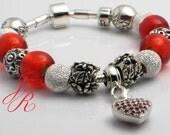 Amore Mio - Auth. CARLO BIAGI Charm Bead Bracelet