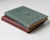 vintage Gregg shorthand books, set of 2 with ephemera, 1929 and 1930 Art Deco Industrial