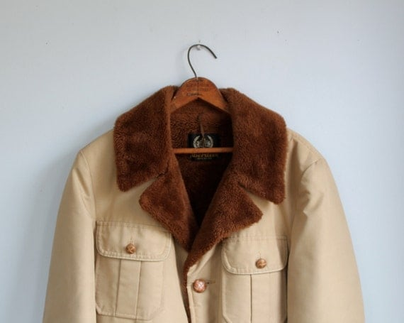 vintage 1960s western coat. Men's 44 / 46 tall. Aberdeen / Rustic country western  / the WHISKEY and RYE coat