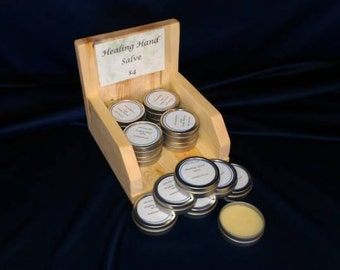 Healing Hand Salve all natural no color or fragrance added.