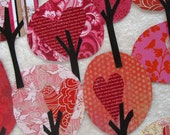 Paper Trees Valentine's Day - Friendly Forest Enchanted Walk Collection