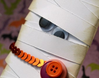 Mummy Halloween Decoration - Who's Your Mummy