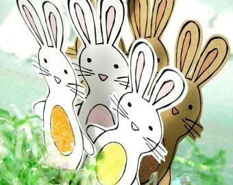 Bunny Rabbits - Glitter Belly Bunnies