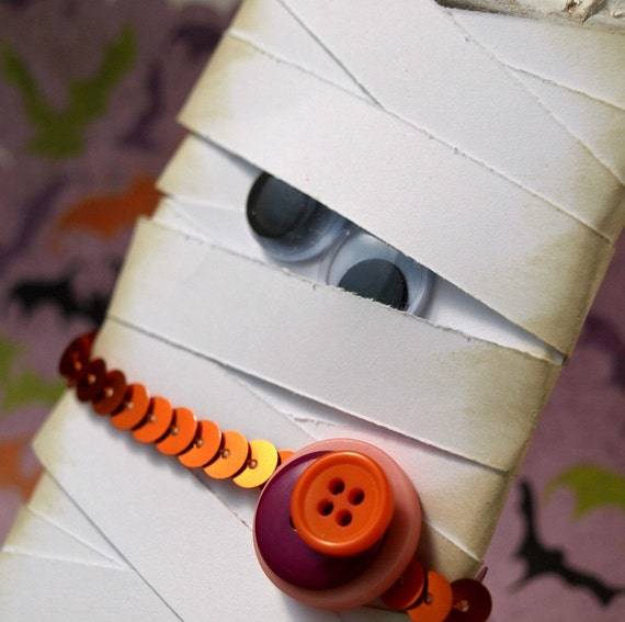 Mummy Halloween Decoration - Who's Your Mummy