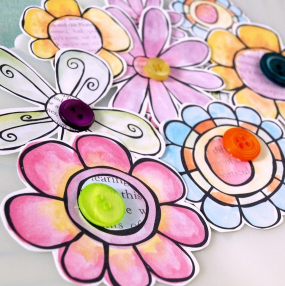 Watercolor Paper  Flowers