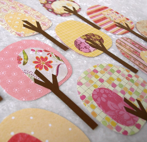 Paper Trees - Friendly Forest Strawberry Lemonade Collection