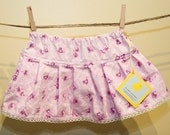 Custom Solid Pink Girly Skirt for PinkRomance