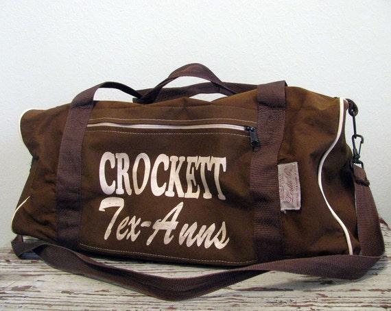 Vintage CROCKETT Duffle Bag Weekender