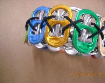 Recycled  Soda  Pop Top Bracelet