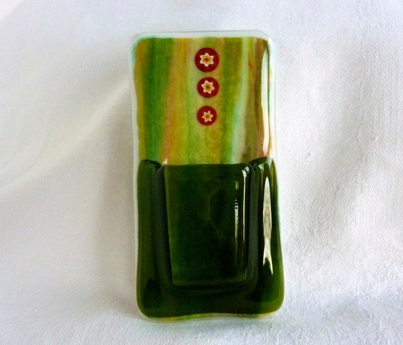 Glass Pocket Magnetic Vase
