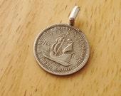 Caribbean Coin Pendant