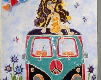 Little Hippie Girl