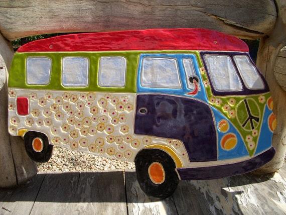 Hippie Love Bus