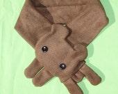 Brown Bear Scarf