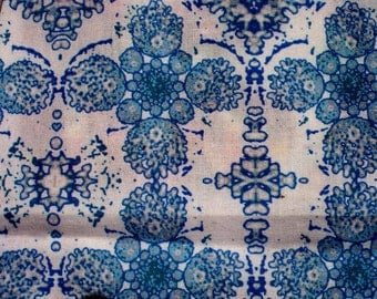 Yarrow Collection   Order a Irish Crochet motif Custom designed fabric on Quilting Weight Cotton material One Yard