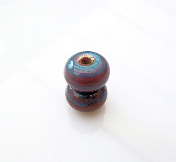 Two Jupiter Lampwork Beads SRA