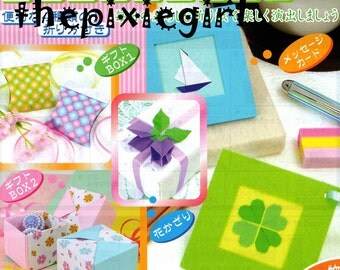 JAPANESE ORIGAMI PAPER Craft Kit Boxes, Cards and More