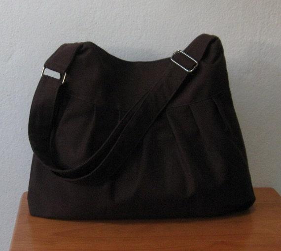 Chocolate Canvas Bag - Multi Purpose Adjustable Strap