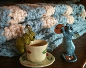 Baby Blanket Crochet Pattern Alaska Glacier Blanket PDF pattern