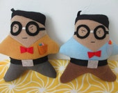 Reserved Listing for Kevin/Sweet & Sour Goodies  Nerd Plush