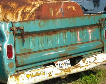 OLD CHEVY TRUCK/notecard