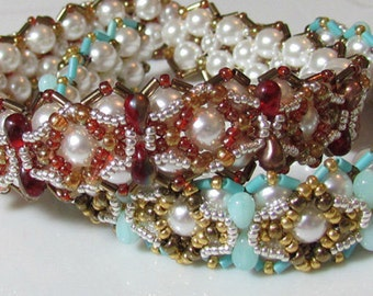 Bianco Bracelet step by step instructions for personal use only