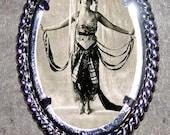 Belly Dancer Frame Pendant