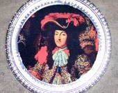 Sun King Louis XIV Frame Pendant