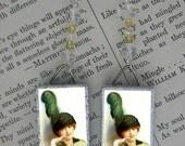 Victorian Fashion Lady beaded Earrings