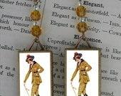 Whip Fashion beaded Earrings