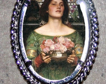 Rose Bouquet by Waterhouse Pendant