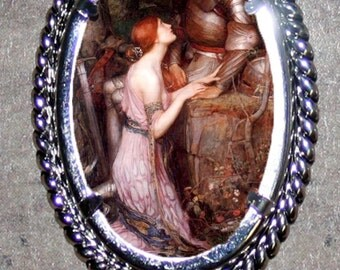 Lamia by Waterhouse Frame Pendant