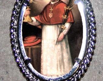 Saint Ramon Frame Pendant