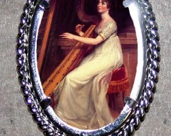 Saint Cecilia Frame Pendant
