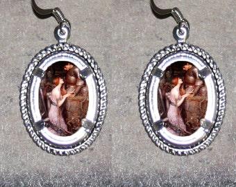 Lamia by Waterhouse Oval Frame Earrings
