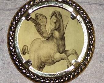Pegasus Frame Pendant