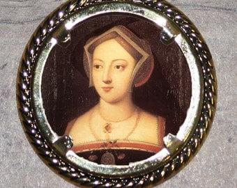Mary Boleyn Frame Pendant
